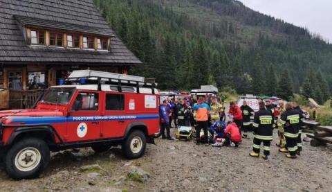 Wypadki i śmierć. To był tragiczny weekend w Tatrach… Zabiły go Rysy
