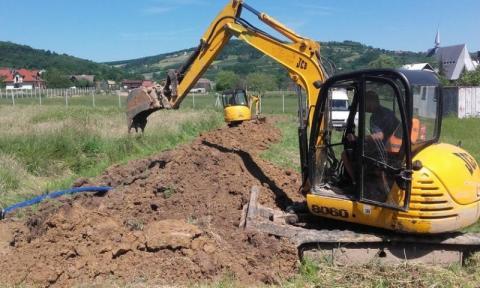 Podegrodzie: idzie kanalizacja, dwa sołectwa w kolejce