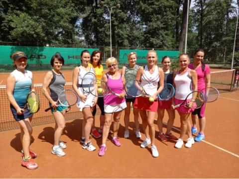 W Parku Strzeleckim rozegrano tenisowy turniej kobiet. Przyniósł duże emocje