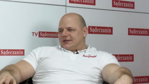 Tomasz Kowal, strongman z Sądecczyzny