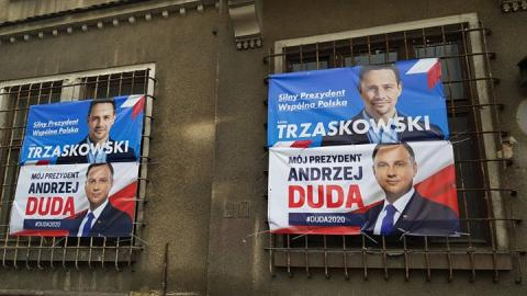 Duda Trzaskowski wyniki sondażu przed 2 turą