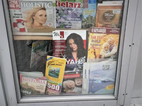 """Miesięcznik """"Sądeczanin"""" dostępny w kiosku przy ul. Długosza, tuż obok I LO"""
