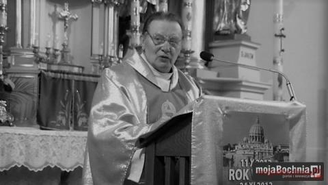 Zmarł ks. Antoni Tworek. Był wikariuszem w Rytrze i Łącku
