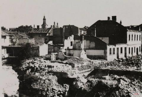 Czarno-Biała Sądecczyzna (21): Zniszczony Nowy Sącz, Grybów na początku wieku