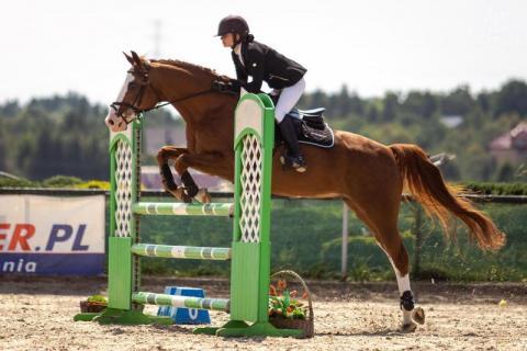 talent! NaszWeronika zgarnęła na koniu mistrzostwo Małopolsk