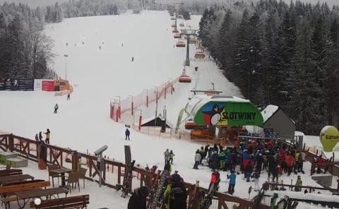 Tragiczny wypadek na stoku narciarskim w Krynicy. Nie żyje pracownik