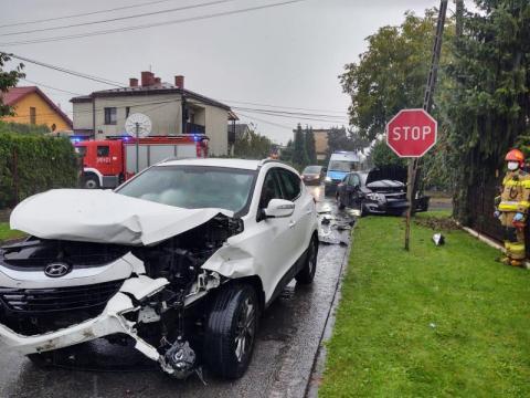 Wypadek za wypadkiem w regionie. Warunki nie sprzyjają podróżowaniu