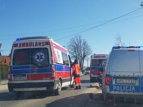 Z ostatniej chwili: wypadek na drodze krajowej. Aż cztery osoby poszkodowane