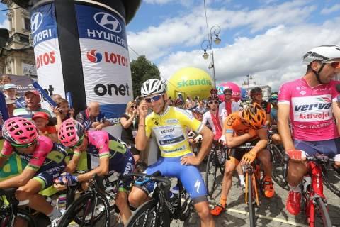 Tour de Pologne opuścił Nowy Sącz