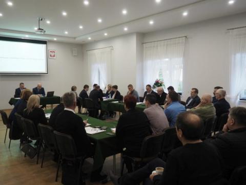 Zgrzyt na sesji rady gminy w Kamionce Wielkiej