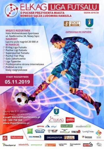 Zapisz drużynę do turnieju El-Kag Ligi Futsalu!