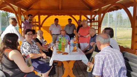 Zebranie zarządu Kas Wzajemnej Pomocy - oddział Chełmiec