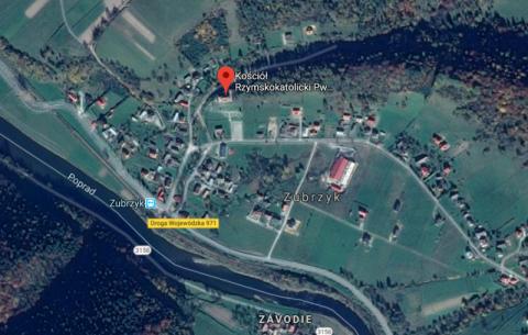 Piwniczna i Zubrzyk – droga koło kościoła zamknięta. Rusza remont