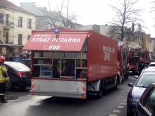Ewakuacja w Zespole Szkół Budowlanych. Dwie osoby trafiły do szpitala