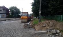 Raport drogowy: trwa wielki lifting ulicy Broniewskiego w Nowym Sączu