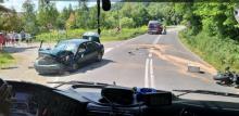 Tragiczny wypadek w Bieśniku. Zginął motocyklista z gminy Stary Sącz