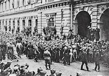 Lała się krew robotników i żołnierzy: 1 pułk podhalańczyków na ulicach Krakowa