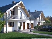 Kameralny dom z ogrodem w cenie mieszkania? Znajdziesz go na osiedlu DOM MARZEŃ