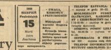 Zatrucie grzybami i wypadek w Tęgoborzu, czyli co się działo 15 sierpnia 1988r.
