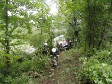Wypadek w Żegiestowie