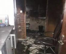 Pożar w zakładzie fryzjerskim. Zapaliła się pralka