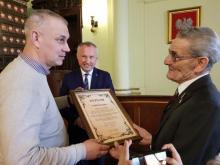 Tadeusz Giza świetował 90. urodziny, fot. Iga Michalec