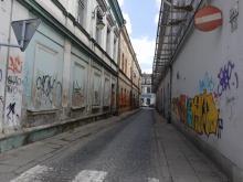 Ulica Wąska w Nowym Sączu, fot. Iga Michalec