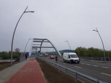 Most heleński zaczął tętnić życiem, fot. Iga Michalec