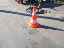 Matko z córką! Toż to asfalt się topi [ZDJĘCIA]