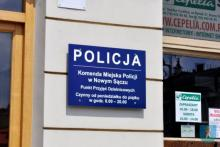 sklep z policją w Nowym Sączu, fot. UM w Nowym Sączu