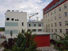 Rozbudowa sądeckiego szpitala, fot. Iga Michalec