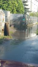 Nowy Sącz: błotny prysznic albo rażenie prądem, atrakcje na Wiśniowieckiego