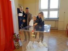 Wybory parlamentarne 2019, fot. Iga Michalec