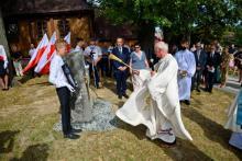 Mieszkańcy Łososiny upamiętnili jedyną kobietę-żołnierz zamordowaną w Katyniu