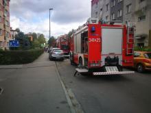 Z ostatniej chwili: pożar w bloku przy ul. Grota Roweckiego
