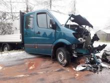 Dramatyczny wypadek w Ropie. Jedna osoba trafiła do szpitala [ZDJĘCIA]