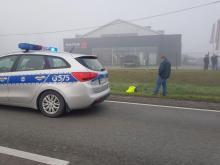 Poranny koszmar na drodze krajowej. Motocyklista zakończył podróż w szpitalu