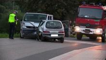 Dramatyczny wypadek w Kasince. Ranna osoba dorosła i dzieci. W akcji LPR