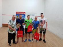 Adam Kołodziej mistrzem sądeckiego Grand Prix w squashu