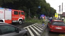 Gwałtowna burza przeszła nad Sądecczyzną. Podtopione budynki w Witowicach