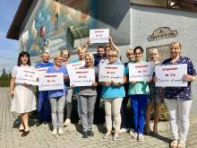 Nowy Sącz: rekord jednego procenta dla Sądeckiego Hospicjum!