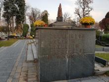 Pomnik Bohaterów Września, cmentarz komunalny, fot. Iga Michalec