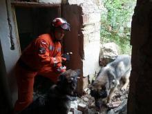To prawdziwa katastrofa budowlana! Strażacy z psami pracują bez wytchnienia! [ZDJĘCIA]