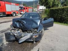 Wypadek w Łabowej. Mężczyzna zabrany do szpitala