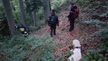 Strażacy przeczesują zarośla nad Dunajcem.Gdzie jest zaginiony Krzysztof Serafin