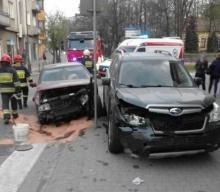 Znowu kraksa koło urzędu wojewódzkiego. Na Jagiellońskiej zderzyły się samochody