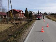"""Motocyklista tak """"pruł"""", że rozpruł betonowy przepust! Makabra w Moszczenicy"""