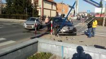 Utrudnienia na ul. Paderewskiego. Zderzyły się tam dwa samochody