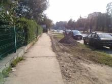 Nowy Sącz / Lwowska: krajobraz po bitwie? Remont w kratkę