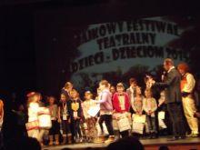 II misjce uczniów z Koniuszowej w Bajkowym Festiwalu Teatralnym